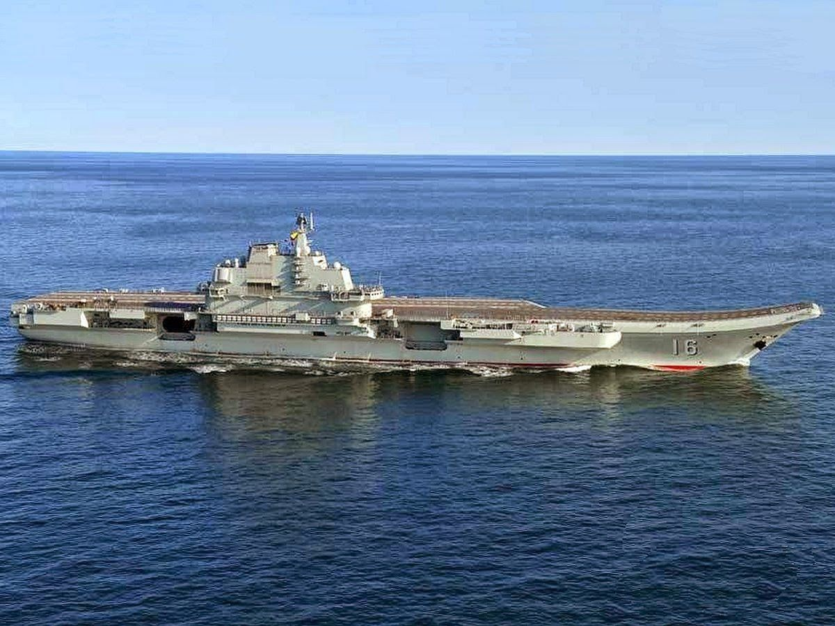 China's first aircraft carrier, the Liaoning, was commissioned in 2012.