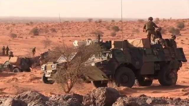 Opération Barkhane : opération de contrôle de zone