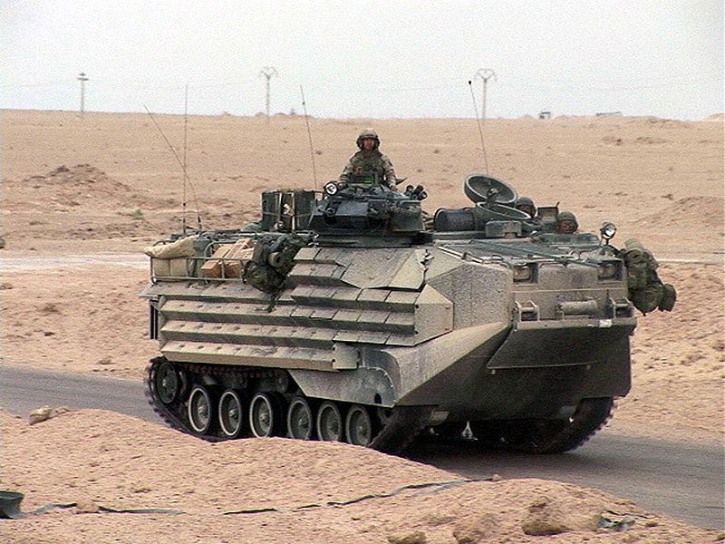 SAIC to continue USMC AAV upgrade programme