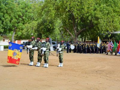 The closing ceremony of Exercise Flintlock 2015 - photo US Africom