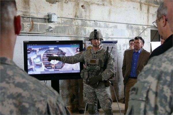 AEWE Army Expeditionary Warfighter Experiment - photo US Army