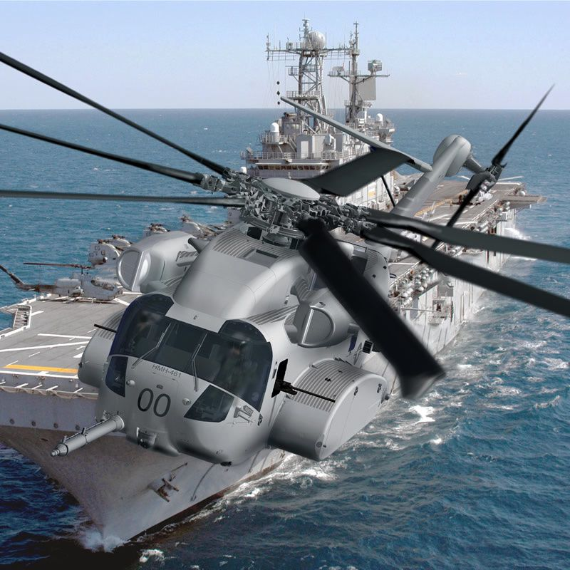 CH-53K program - photo Sikorsky Aircraft
