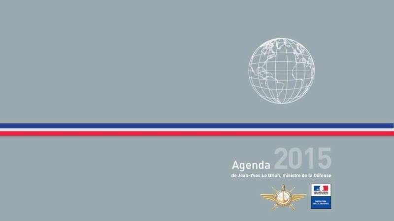 Agenda 2015 du ministre de la Défense