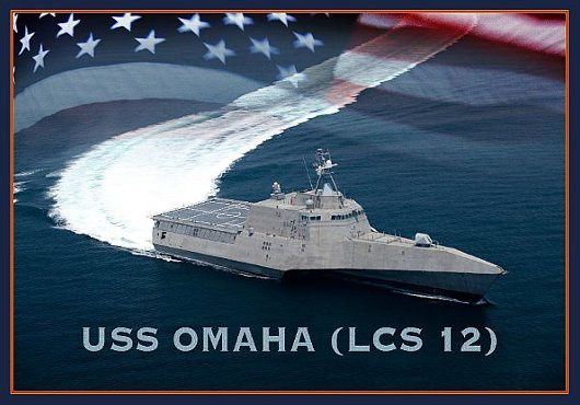 Navy Lays Keel on Future Littoral Combat Ship Omaha