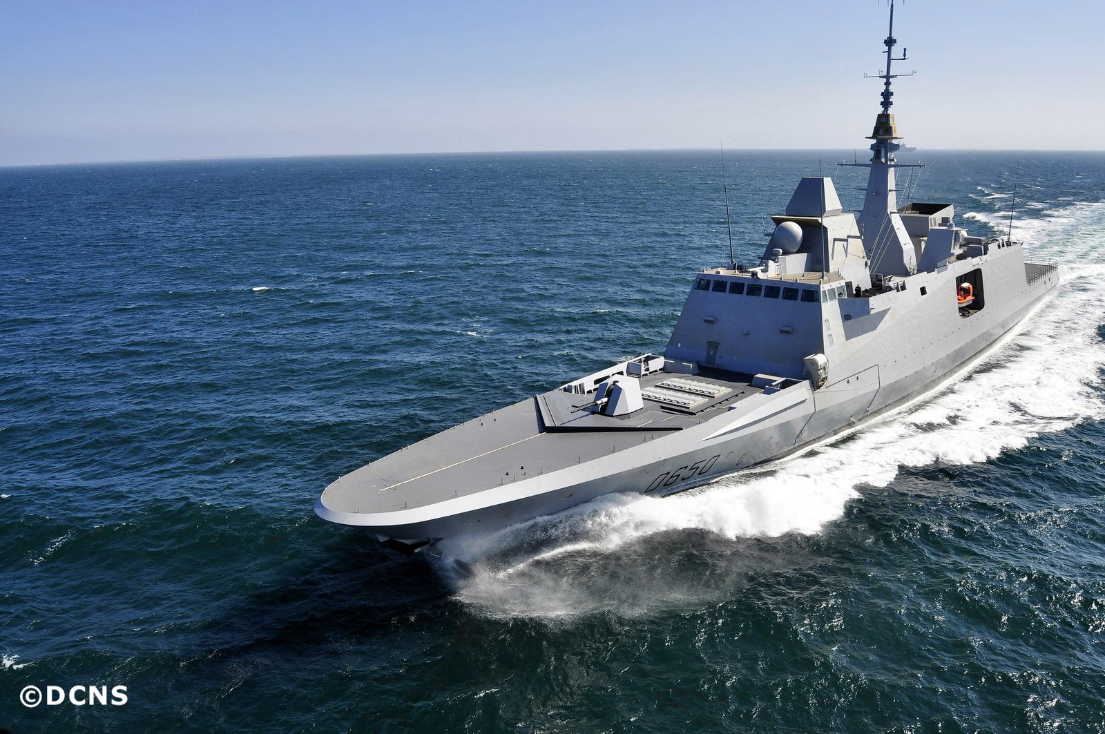 FREMM Aquitaine - photo DCNS