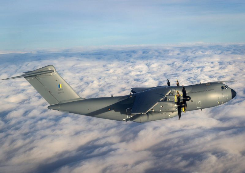 Airbus Hands Over Malaysia's First A400M - photo Airbus DS