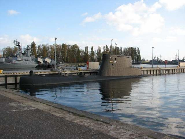 submarine Kondor is one of four Kobben-class boat