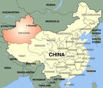 Xinjiang Uyghur Autonomous Region - source orientalreview.org