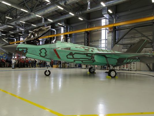 Italy Produces First F-35 Outside US