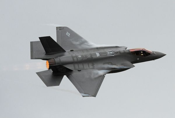 F-35 Is Not Ready for Prime Time