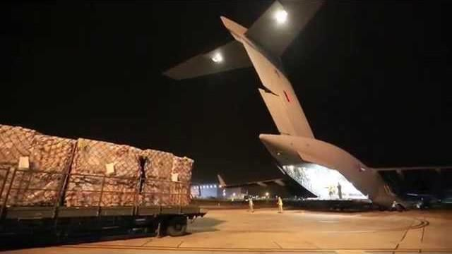 RAF carries UK aid to cyclone-hit Vanuatu