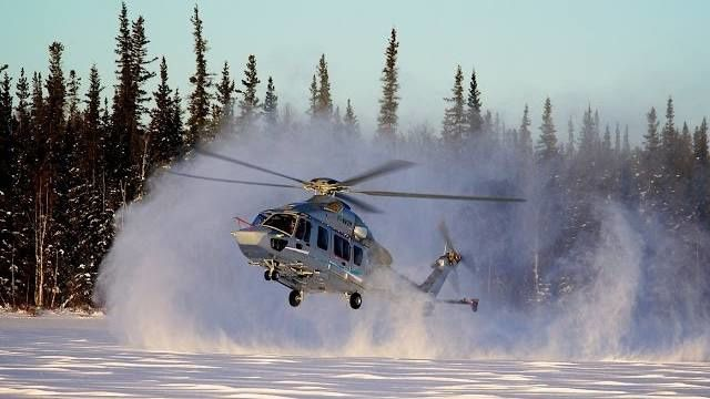 EC175 Winter Campaign - photo Airbus HC