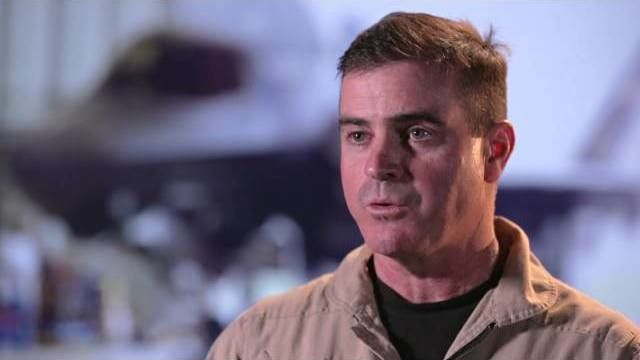 Faces of the F-35: Test Pilot Bill Gigliotti