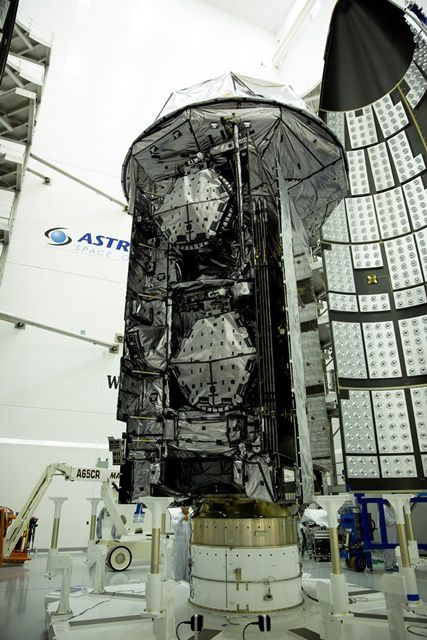 Unfurlable Mesh Antennas from Harris Successfully Deploy on US Navy's 3rd MUOS Satellite