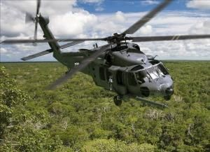A UH-60M helicopter. (Photo Sikorsky)