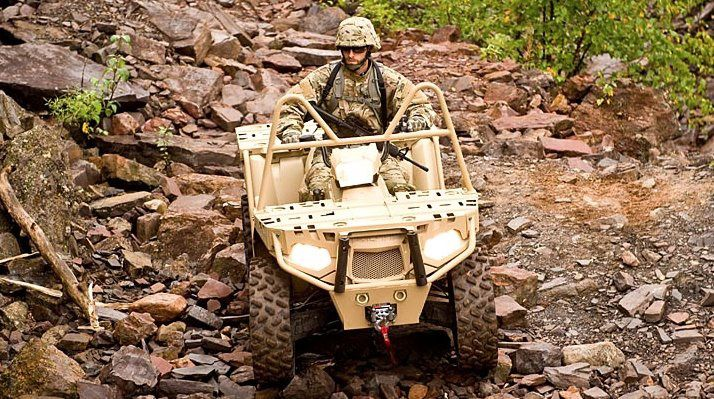 MV850 ATV photo Polaris  Industries Inc