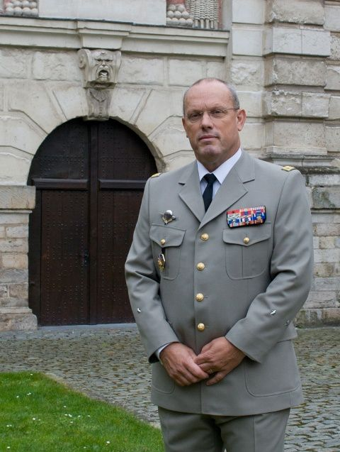 Brigadier General Dominique Laugel - EUMAM RCA Commander (photo CRR-FR)