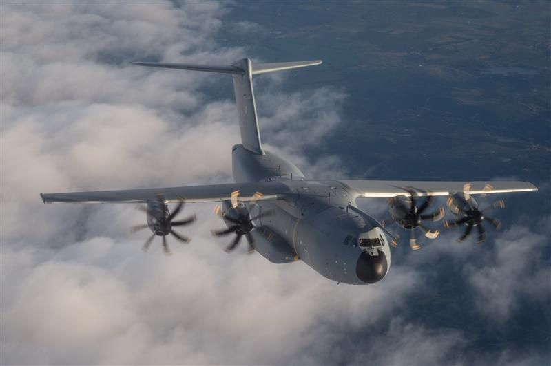 Malaysia A400M first flight 30 Jan 2015 - photo Airbus DS