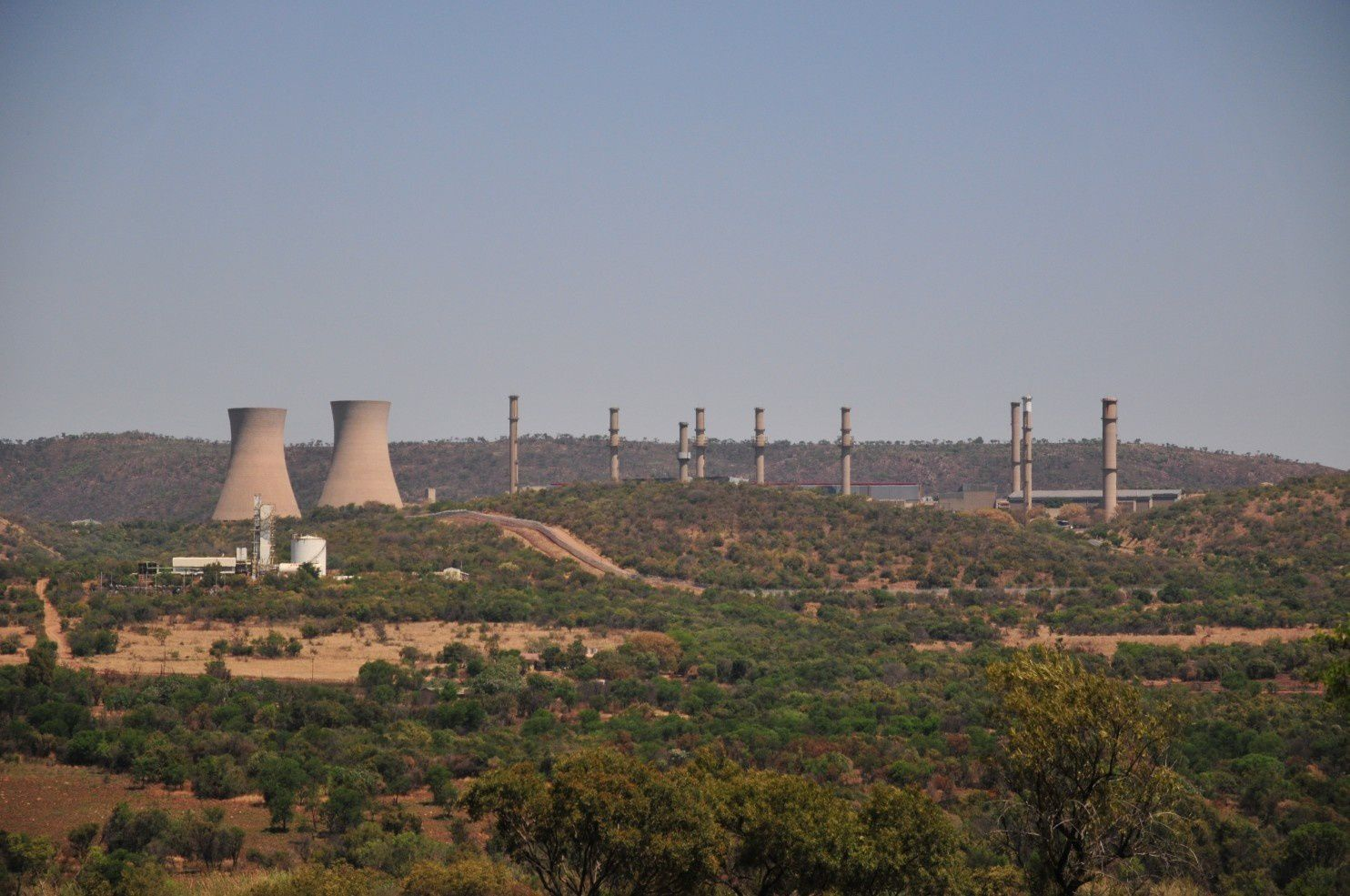 Pelindaba Nuclear Research Center. (photo Douglas Birch - Center for Public Integrity)