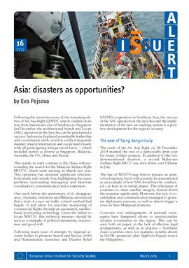 Asia: disasters as opportunities?