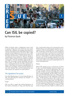 Can ISIL be copied?