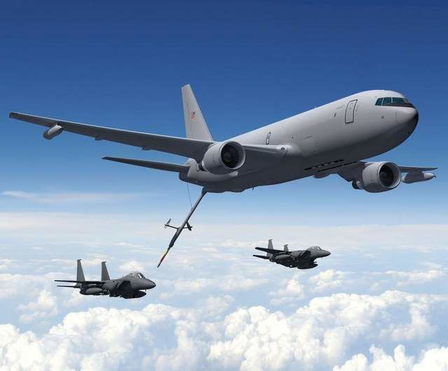 SecAF: KC-46 First Flight 'Hopefully' Summer