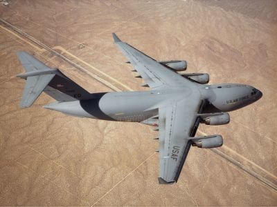 US Air Force complete C-17 avionics, weather radar upgrades