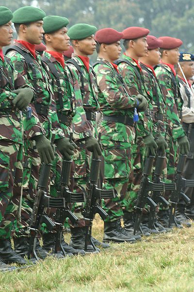 Soldiers of the Indonesian Army - photo S.Titus