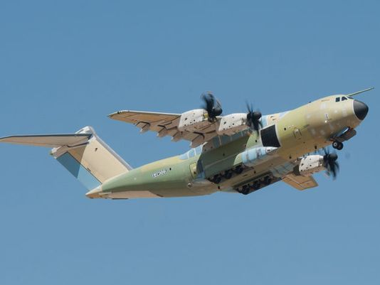 The Turkish Air Force's first A400M completed its initial flight in August 2013.(Photo Airbus DS)