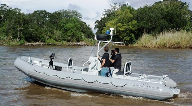Metal Shark's 7m rigid hull inflatable boats (RHIBs). Photo Gravois Aluminium Boats LLC DBA Metal Shark