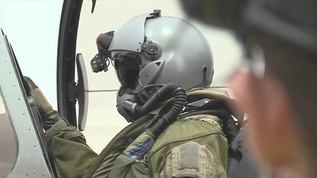Depuis N'Djamena, départ en mission de reconnaissance à bord d'un Rafale - opération Barkhane