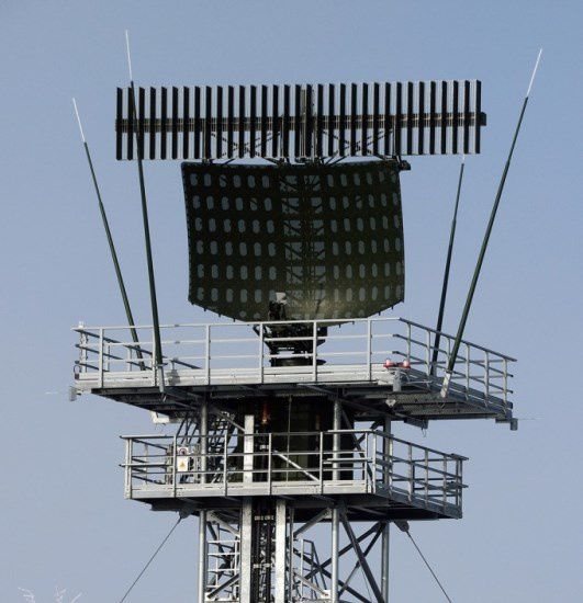 ASR-NG Airport Surveillance Radar Next Generation - photo Airbus DS