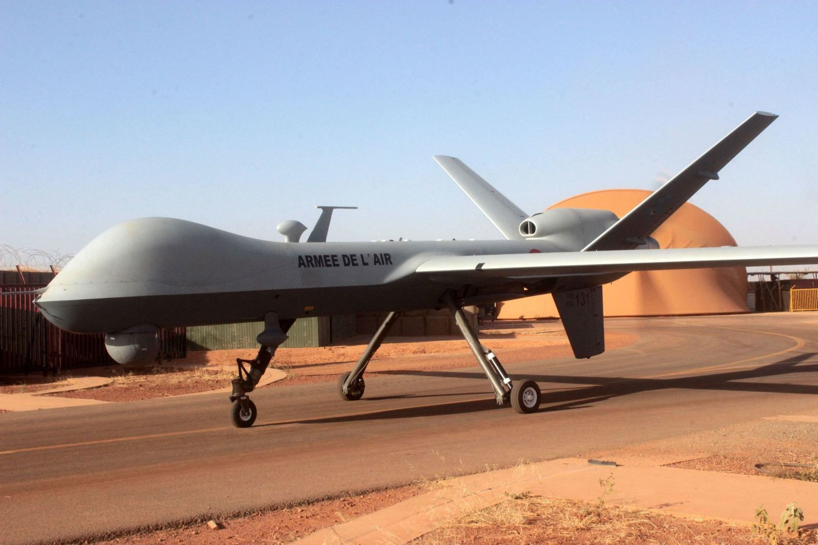 Drone Reaper. Photo Armée de l'Air