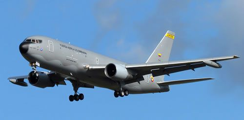 IAI's first B767 MMTT conversion was the 'Jupiter' currently operated by the Colombian Air Force (FACH).