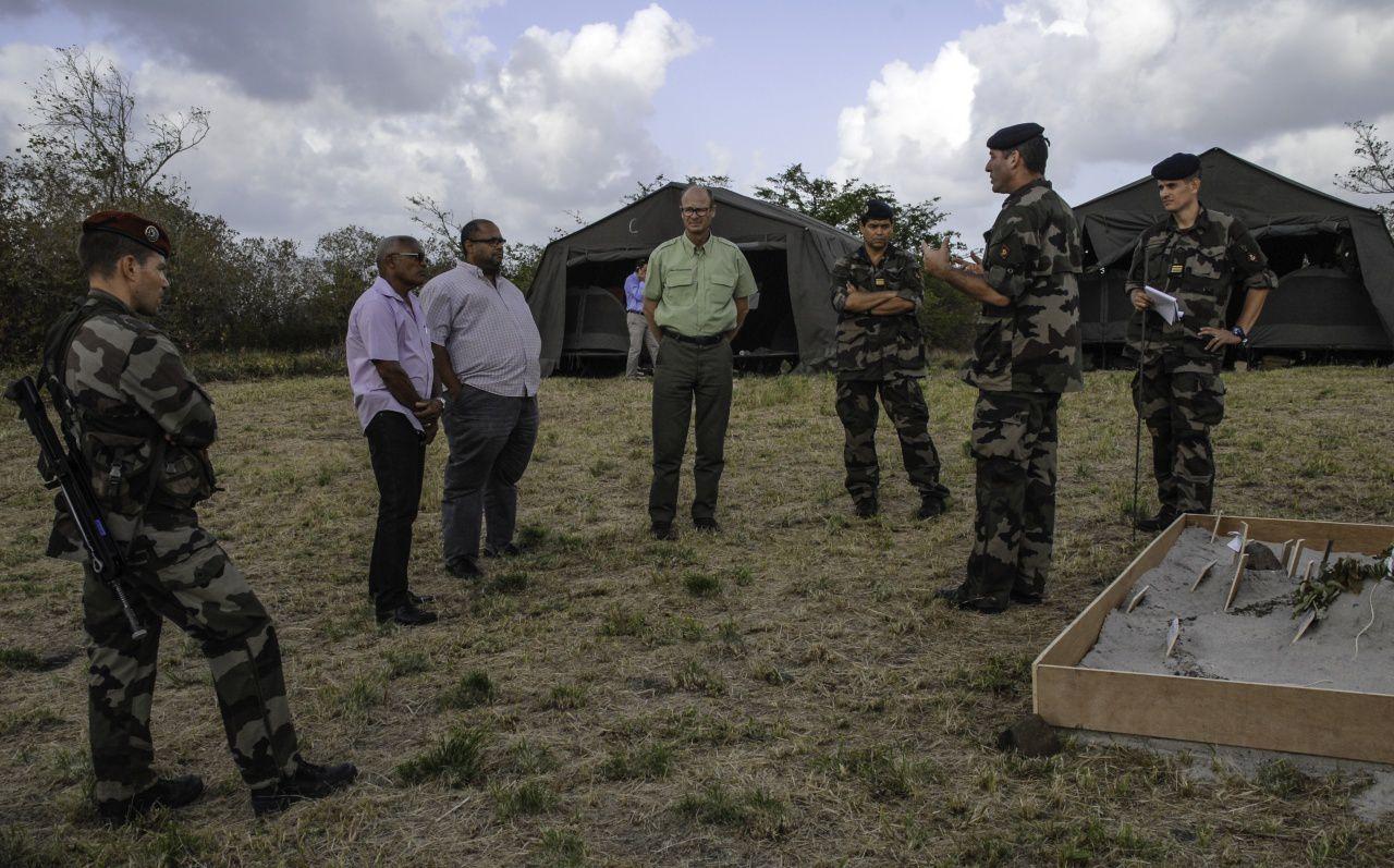 photo Forces Armées Antilles