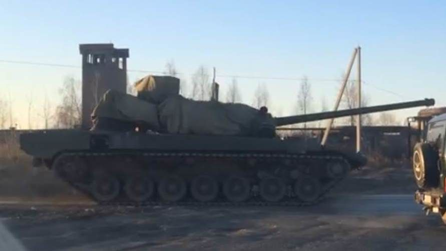 T-14 Armata tank Photo Alexander Smirnov / YouTube