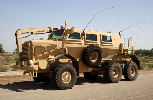 M1272 Buffalo A2 vehicle photo US Army