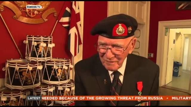 British D-Day Veteran Awarded France's Highest Honour