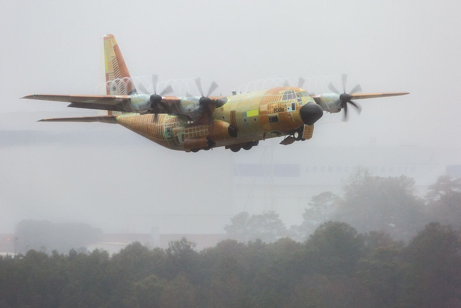 USCG HC-130J long-range search and rescue aircraft photo Andrew McMurtrie LM