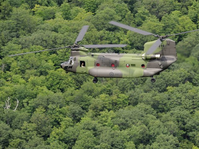 RCAF Chinooks to be outfitted with missile defence system