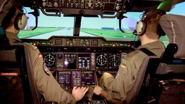 A400M – Turbulenzen im Simulator