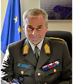 Lieutenant General Wolfgang Wosolsobe, Director General of the EU Military Staff