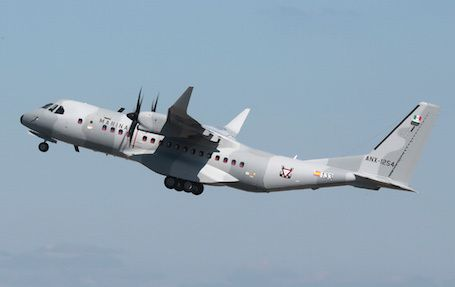 C295W aux couleurs de la Marine mexicaine photo Airbus DS