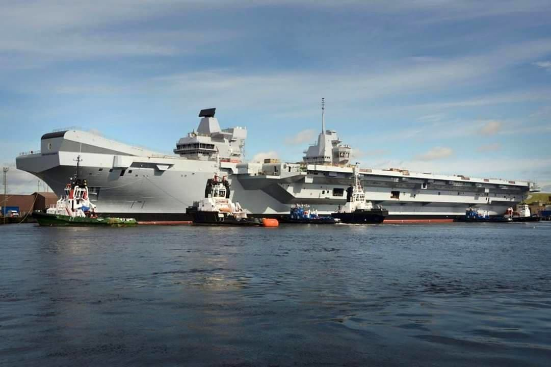 HMS Queen Elizabeth - photo QEC
