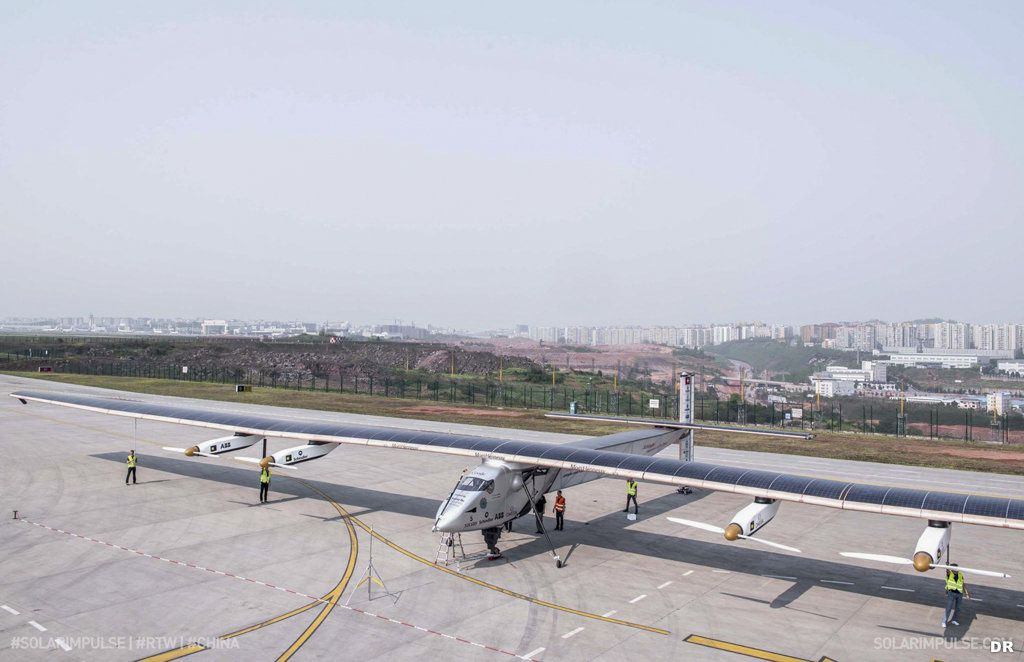 Solar impulse 2 : escale en Chine