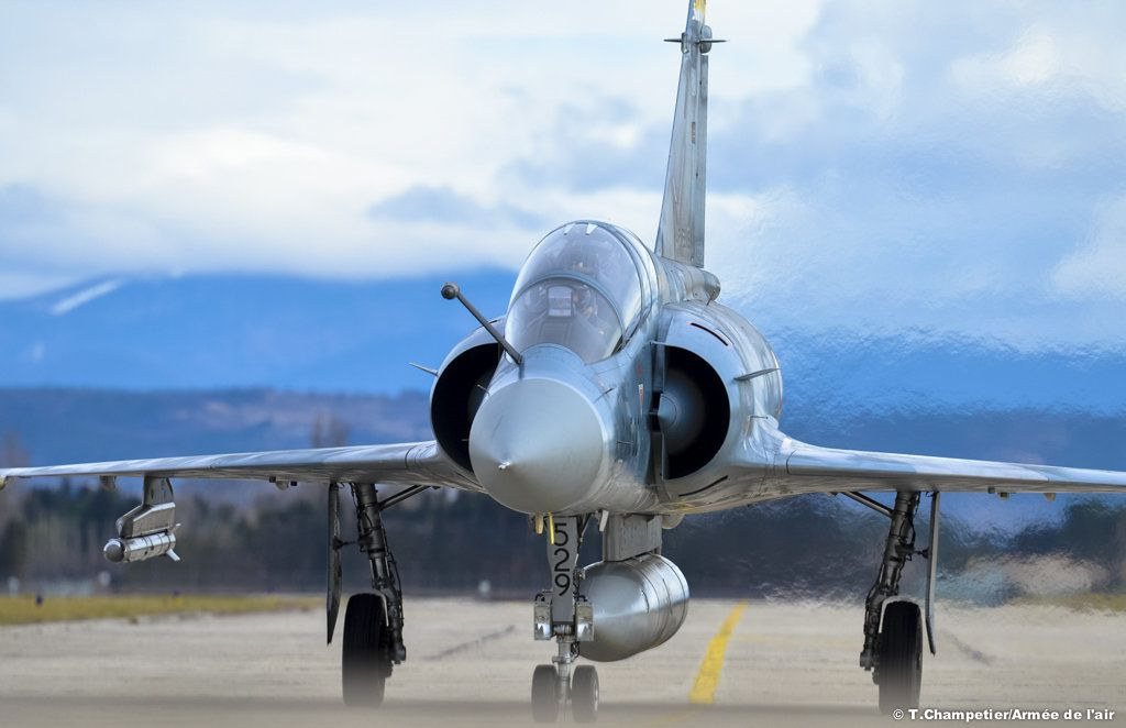 Mirage 2000C - photo T.Champetier Armée de l'Air