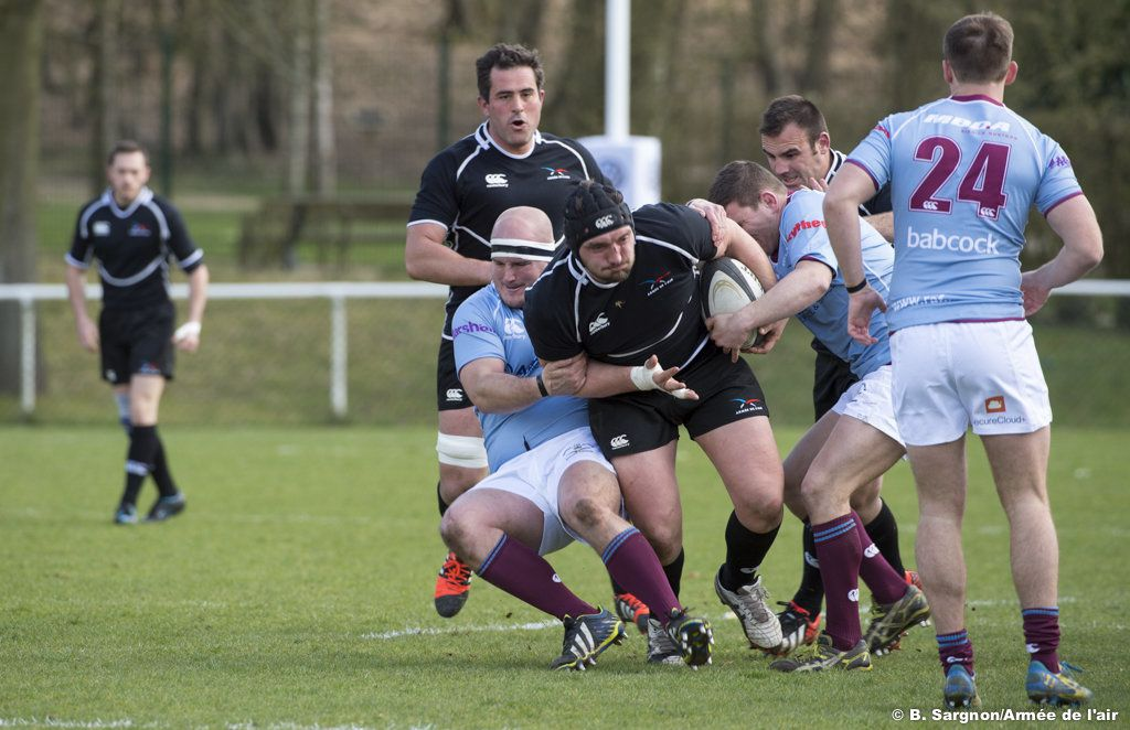 Rugby : XV de l'Air vs Royal Air Force