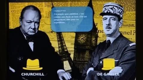 "Visite guidée : exposition""Churchill - de Gaulle"""
