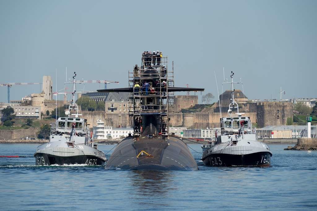 SNLE Le Triomphant - photo Marine Nationale