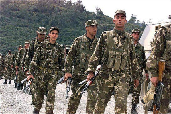 Algerian army kills five militants